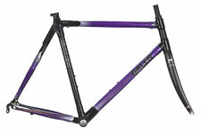 Galen Excitatus Vehi Road Bike Frame Set 58cm LARGE Carbon Reynolds Ouzo Pro