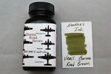 NOODLERS INK 3 OZ BOTTLE VMAIL BURMA ROAD BROWN