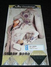 Anita Goodesign Urban Boho Fashion Embroidery Machine Design CD 80AGHD