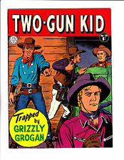 "Two-Gun Kid No 38 1960's  -Austrailian  -""Trapped By Grizzly Grogan Cover ! """