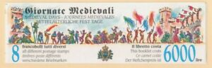 San Marino Scott 1365c Medieval Days Complete Booklet Mint Never Hinged