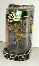 "STAR WARS Epic Force C-3PO Statue 6"" Figure Rotating base Hasbro NEW SEALED"
