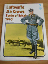 KEY UNIFORM GUIDES, NO 4 LUFTWAFFE AIR CREWS - BATTLE OF BRITAIN - BY DAVIS