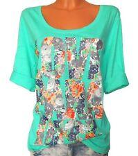 Sheego Shirt Gr 44//46 bis 52//54 blau weiß Streifen gestreift Übergröße 322