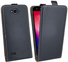 Klapptasche schale hülle Etui Zubehör Case Bag schwarz für LG X Power 2