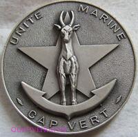 MED8469 - MEDAILLE UNITE MARINE CAP VERT
