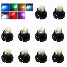 10X T3 1SMD car Neo Wedge LED Bulbs Cluster Instrument Dash Climate Base 12V