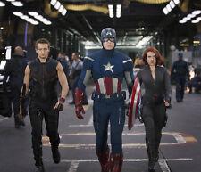 Jeremy Renner, Chris Evans & Scarlett Johansson photo - G1122 - Captain America