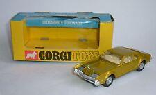 Corgi Toys Oldsmobile Toronado Nº 276, ruedas de despegue' ' Conectores De Oro-como Nuevo.
