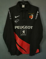 LONG SLEEVE VINTAGE NIKE MENS RUGBY UNION TOULOUSE 2007/2008 SHIRT JERSEY SIZE S