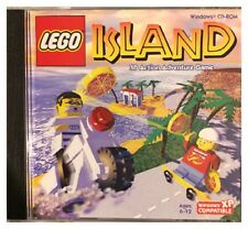 Lego Island 3D Action Game Pc Brand New Sealed Free US Shipping Nice XP