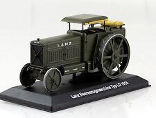 Lanz Heereszugmaschine Typ LD 1916 Traktor 1:43 Hachette Modellauto