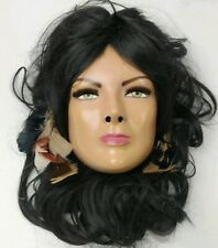 Native American Indian Woman Spirit Mask