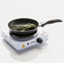 WHITE 1.5KW SINGLE HOT PLATE HOB STOVE COOKER