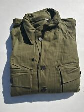 WW2 US Army HBT 13 Stars Buttons 2 Pockets Shirt/Jacket Size 40R
