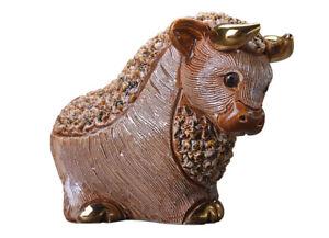 De Rosa - Brown Bull Figurine