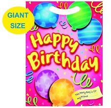 Pack de 10 fête géante Sacs convient garçons ou filles Cadeau d'anniversaire
