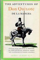 Adventures of Don Quixote de La Mancha by Miguel de Cervantes & Leighton Barret