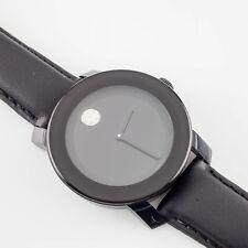 Movado Unisex Bold Quartz Watch w/ Crystal Noon Marker 3600086