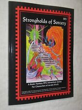 BF3 Strongholds of Sorcery NEW Basic Fantasy RPG module OSRIC D&D 1st ed.AD&D