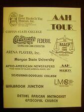 New listing 1990 Black Americana Tour Guide for Landmarks of Baltimore City