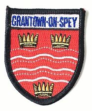 Grantown on Spey Scotland Embroidered Patch (AO63D)