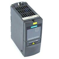Siemens Micromaster 420 Drive 6SE6420-2AB15-5AA1 0.55 KW 0.75 HP 240V + Warranty