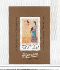 Hungria Pintura Picasso Desnudos Hojita del año 1981 (ES-189)