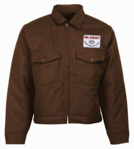 Mr Robot Jacket F Society Edward Alderson Christian Slater TV Show Costume Patch
