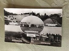 a3a postcard used 1960s wirral views