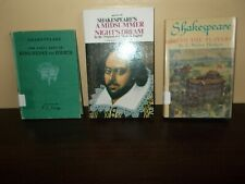8 Book Lot by William Shakespeare 3 Hard Cover 5 Paperback Various Titles