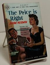 The Price is Right by Jerome Weidman - Avon 279 - 1950