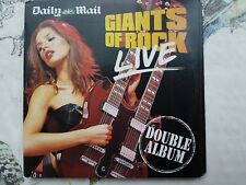 CD Giants of Rock Live 24 Tracks T'Pau,Yes,Hendrix,Iggy Pop,REO,Roxy,Thunder