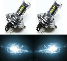 LED 80W 9003 HB2 H4 White 6000K Two Bulbs Head Light Replace Lamp Off Road Fit