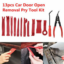 13 Pcs Car Door Panel Trim Dashboard Clips Pliers Fastener Removal Tools Kit