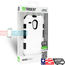 NEW Trident Motorola Case White Rugged Cover for Moto G 1st Gen XT1028 XT1031