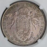 Hungary 1786 Joseph II Silver Thaler NGC MS62