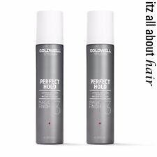 GOLDWELL Stylesign Magic Finish Perfect Hold Lustrous Hair Spray 300ml x 2 -Duo