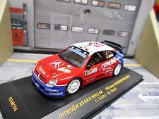 CITROEN Xsara WRC Rallye 2004 WM #4 Sainz Argentinien Total SP IXO 1:43