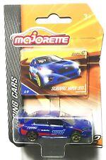 New Majorette Subaru WRX STI Racing Cars Series 2 Blue Graphics Diecast Metal