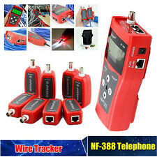Professional NF-388 Network Cable Tester LAN RJ45 RJ11 USB Cable Coaxial Tester