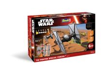 STAR WARS - TIE FIGHTER BUILD & PLAY MODEL KIT WITH SOUND & LIGHT 13 CM