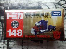 TOMICA #148 TRANSFORMERS OPTIMUS PRIME DREAM TOMICA NEW IN BOX