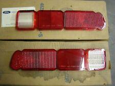 NOS OEM Ford 1970 - 1976 Maverick + Pinto Tail Light Lenses 1971 1972 1973 1974