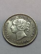 1893 Victoria Five Cent Silver  #1491