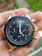 Mens Speed Chronograph Homage Watch Parnis moon watch SS luxury vintage Quartz