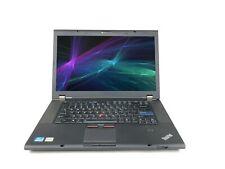 "C Grade Lenovo ThinkPad W520 15"" Intel i7 8 GB RAM 500 GB HDD WiFi Win 10 Laptop"