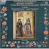 Robert Carver - : 10-Part Mass 'Dum sacrum mysterium'; 2 Motets (1991) CD ALBUM