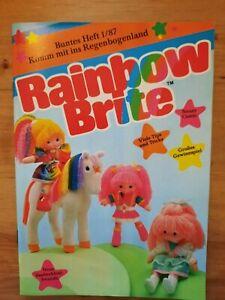 Rainbow Brite, Das bunte Heft aus dem Regenbogenland ! 1/1987 Mattel