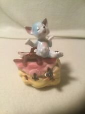 Vintage Lego Japan Kitty Cat in a Bag Figurine - With Foil Sticker